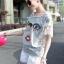 SS16010916 Seoul Secret Say's... Chic Denim Chill Dresss Material : เนื้อผ้ายีนเดนิมผสมคอตตอน thumbnail 5