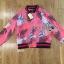 Lady Ribbon ขายส่งเสื้อผ้าออนไลน์พร้อมส่งของแท้ LR07220716 &#x1F380 Lady Ribbon's Made &#x1F380 Gucci Pink Floral Printed Sporty Bomber Jacket thumbnail 5