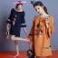 Normal Ally Present Korea rope pin style dress&#x1F389 (เดรส, แต่งเชือกตุ้มเม้งสลับสี) thumbnail 1