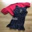 Lady Ribbon Dress and Red Outer Set เซ็ตเดรสสีดำ thumbnail 6