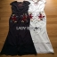 Lady Ribbon Floral Embroidered Polyester Dress เดรสยาวโพลีเอสเตอร์ผ่าหน้า thumbnail 1