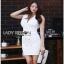 Lady Ribbon Suit Dress สูทเดรสแขนกุด thumbnail 4
