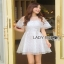 Lady Ribbon Mini Dress thumbnail 3