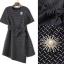 Lady Ribbon Online เสื้อผ้าออนไลน์ขายส่ง Normal Ally เสื้อผ้า,NA13220816 &#x1F389Normal Ally Present Boutique new autumn collection dress and Dimond and pearl brooch&#x1F389 (เดรส + เข็มกลัดเพชรเกสรไข่มุก, มีซับในอย่างดี, มีเชือกเข็มขัด) thumbnail 6