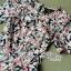 Lady Ribbon Online ขายส่งเสื้อผ้าออนไลน์ เลดี้ริบบอน LR20280716 &#x1F380Lady Ribbon's Made&#x1F380Lady Lana Flower Print A-Line Dress เดรสแขนสั้น thumbnail 4