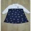 เสื้อเชิ้ตสีขาวกระโปงผ้ายีนส์ thumbnail 5