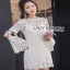 Lady Ribbon ขายส่ง White Lace Dress thumbnail 7
