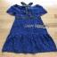 Lady Ribbon Black & Blue Lace Dress thumbnail 5