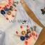 Lady Ribbon Online เสื้อผ้าออนไลน์ ขายส่งของแท้ราคาถููก LR15110716 &#x1F380 Lady Ribbon's Made &#x1F380 Lady Cara Surreal Bejewelled Printed Satin Set thumbnail 4