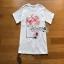 White CHANEL T-Shirt Lady Ribbon ทีเชิ้ตสีขาว thumbnail 7