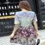 Mixed Printed Chiffon Lady Ribbon Dress เดรสผ้าพิมพ์ลาย thumbnail 5