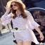 เสื้อผ้าแฟชั่นเกาหลีงานเซ็ท ลุคสาวเก๋สไตล์สาวแฟชั่นนิสตร้า thumbnail 1