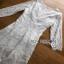 Lady Ribbon Vanessa Classic Feminine White Lace Midi Dress thumbnail 6