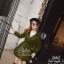 เสื้อคลุมแฟชั่นผ้าหนาป้ายเกาหลี thumbnail 4