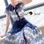 SS15010916 Seoul Secret Say's... Fashionista Navaly Blossom Set Material : เซ็ทเก๋ๆ สไตล์สาวแฟชั่นเก๋ๆ หวานๆ thumbnail 2