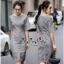 ชุดเดรสเกาหลีซิปซ่อนเกรดดี Lace Dress thumbnail 2
