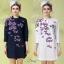 เสื้อผ้าแฟชั่นเกาหลีZara เสื้อคอจีนผ้าคอตตอน thumbnail 1