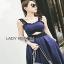Lady Ribbon Rosie Sexy Blue Dress เดรสสีน้ำเงินสด thumbnail 2