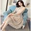 Classic Elegant Lace Dress Lady Ribbon เดรสผ้าคลาสสิก thumbnail 2
