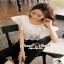 Seoul Secret Lace Belling Playsuit ทรงสวยดูมีคลาส thumbnail 1