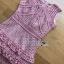 Mini Dress Lady Ribbon ขายมินิเดรส thumbnail 5