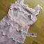 LR04290816 &#x1F380 Lady Ribbon's Made &#x1F380 Self-Portrait Petunia Panelled Midi Dress เดรสผ้าลูกไม้ thumbnail 4