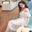 Lady Ribbon Maxi Dress เดรสยาว thumbnail 3