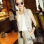Lady Ribbon Online เสื้อผ้าออนไลน์ขายส่ง Normal Ally เสื้อผ้า,NA09220816 &#x1F389Normal Ally Present Casual cotton linen Blazer and short set&#x1F389 (Blazer + กางเกง , มีซับในอย่างดี) thumbnail 2