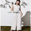 Lady Ribbon Lady Katheryn Minimal Chic Belted Jumpsuit thumbnail 2