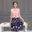 เสื้อผ้าแฟชั่นเกาหลีสวยๆชุดเซท เสื้อ+กระโปรง thumbnail 2