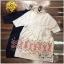 Lady Ribbon Online ขายส่งเสื้อผ้าออนไลน์ Very very pretty VP06030816 Smart Chic Embroidery Cotton shirt Dress thumbnail 6