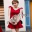 Lady Ribbon ค็อกเทลเดรสผ้าโพลีเอสเตอร์ thumbnail 2