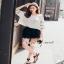 Lace V Blouse เสื้อเก๋ๆ หวานๆ สไตล์เกาหลี thumbnail 5