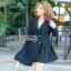 Lady Martin Smart Elegance Suit Pleated Dress thumbnail 4