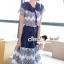 SS15010916 Seoul Secret Say's... Fashionista Navaly Blossom Set Material : เซ็ทเก๋ๆ สไตล์สาวแฟชั่นเก๋ๆ หวานๆ thumbnail 3