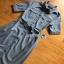 Sara Denim Shirt Lady Ribbon Dress เชิ้ตเดรส thumbnail 6