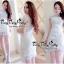 Lady Ribbon Online เสื้อผ้าแฟชั่นออนไลน์ขายส่ง เลดี้ริบบอนของแท้พร้อมส่ง Veryverypreppy เสื้อผ้า VP05240716 Florals White Elegance Korea Dress thumbnail 1