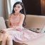 Lady Ribbon Pearl Embellished Pink Dress thumbnail 7