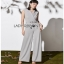Lady Ribbon Lady Katheryn Minimal Chic Belted Jumpsuit thumbnail 7