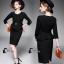 dress สีดำแต่งระบายช่วงเอว thumbnail 1