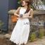 Lady Ribbon Lace Jumpsuit with Ribbon thumbnail 4
