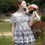 ผ้าลูกไม้ฉลุสวย ตัดต่อผ้าตาข่าย thumbnail 2