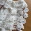 Lady Ribbon Online ขายส่งเสื้อผ้าออนไลน์เลดี้ริบบอน LR20010816 &#x1F380 Lady Ribbon's Made &#x1F380 Lady Nicole Sweet Feminine Off-Shoulder Lace and Polyester Dress thumbnail 5
