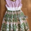 Lady Ribbon Online เสื้อผ้าออนไลน์ขายส่ง Lady Ribbon เสื้อผ้า LR16180816 &#x1F380 Lady Ribbon's Made &#x1F380 Lady Vivienne Sweet Elegant Flower Embroidered Pink Dress เ thumbnail 5