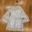Guipure Lace Dress Lady Ribbon เดรสผ้าลูกไม้ thumbnail 5