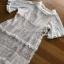Lady Ribbon Chic Ivory Lace Maxi Dress thumbnail 7