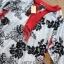 Lady Ribbon Online ขายส่งเสื้อผ้าออนไลน์ เลดี้ริบบอน LR09280716 &#x1F380 Lady Ribbon's Made &#x1F380 Lady Rosie Sunday Casual Embroidered Cotton Blouse with Tassels thumbnail 7