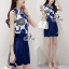 Sevy Two Pieces Of Glam Sleeveless Shirt With Skirt Sets thumbnail 5