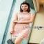 Lady Ribbon Old-Rose Guipure Lace Mini Dress thumbnail 4