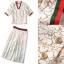 Lady Ribbon Online เสื้อผ้าออนไลน์ขายส่ง Normal Ally เสื้อผ้า,NA12220816 &#x1F389Normal Ally Present Gucci new autumn collection 2016 V-neck shirt and wide leg pant lace set&#x1F389 (เสื้อ+ กางเกงผ้าลูกไม้ , มีซับในอย่างดีทั้งชุด) thumbnail 6